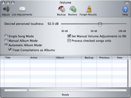 iVolume, ajusta el volumen de tus canciones en iTunes