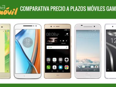 Huawei Nova Plus, Galaxy A5, Xperia X, Moto G4, bq Aquaris X5 y otros gama media: comparamos precio a plazos