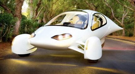 Aptera, un coche híbrido que consume 0,78 litros a los 100 km