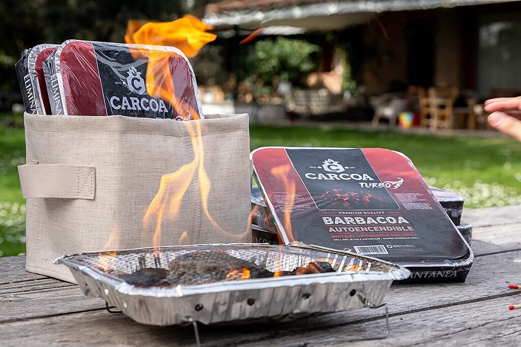 La barbacoa desechable que arrasa en TikTok ahora la tienes en pack en Amazon: llévatela por apenas 3 euros la unidad