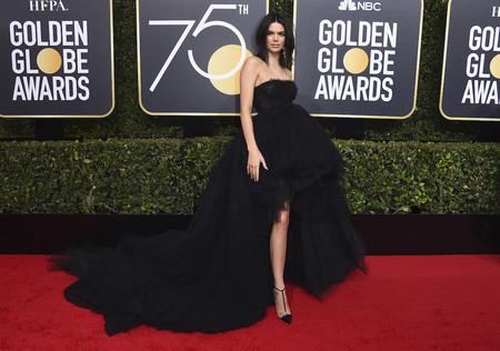 Kendall Jenner Giambattista Valli Globos De Oro 2018