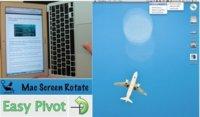 Mac Screen Rotate, para rotar la orientación de pantalla por acelerómetro