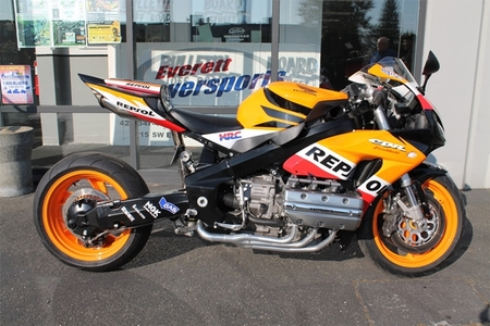 Honda Firewing, o Goldblade, o... mixto entre una CBR 1000 RR y una Goldwing
