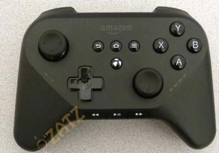 Así podría lucir el mando para la consola de juegos de Amazon
