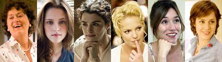 Seis actrices a las que seguir la pista en el final de 2009