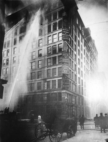 Incendio Fabrica Textil