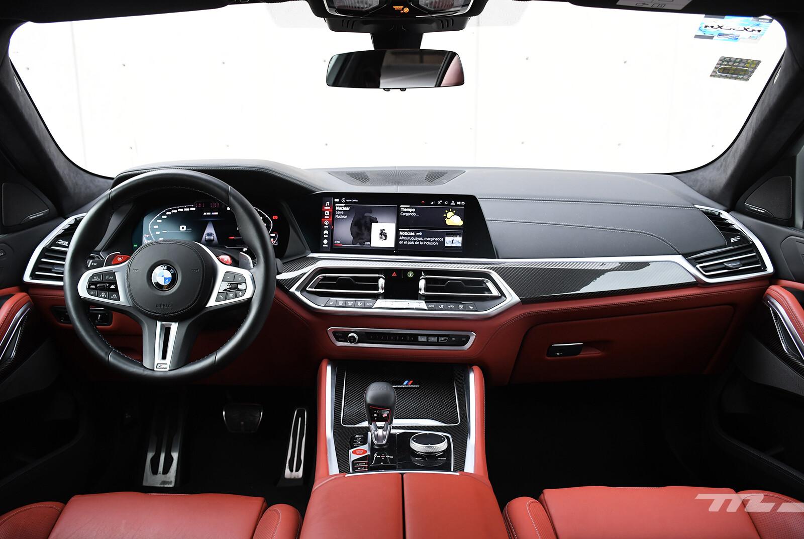 Foto de BMW X6 M Competition 2021 (prueba) (19/27)