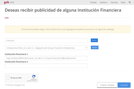 Reus Bloquear Publicidad Algunos Bancos Mexico