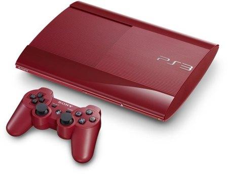 La nueva PS3 'super slim' también en rojo y azul