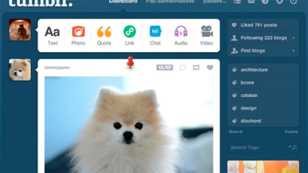 Tumblr elimina la posibilidad de fijar o destacar un post pagando