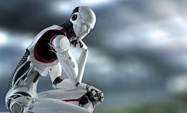 Pensador de Robot