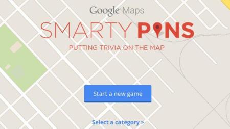 Smarty Pins. Google pone a prueba tus conocimientos de geografía