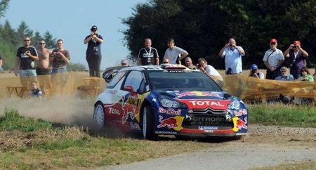 Rally de Alemania 2011: Sébastien Loeb ya es líder y Dani Sordo en tiempos de cabeza