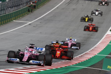 Perez Austria F1 2020