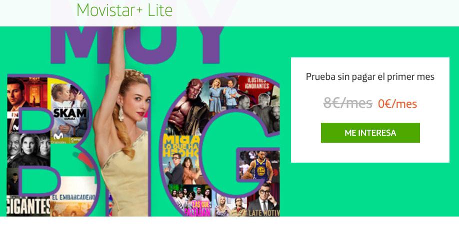 Movistar+ Lite amplía su mes gratis (por la cuarentena del coronavirus) con ocho canales: todo lo que puedes ver y cómo activarlo