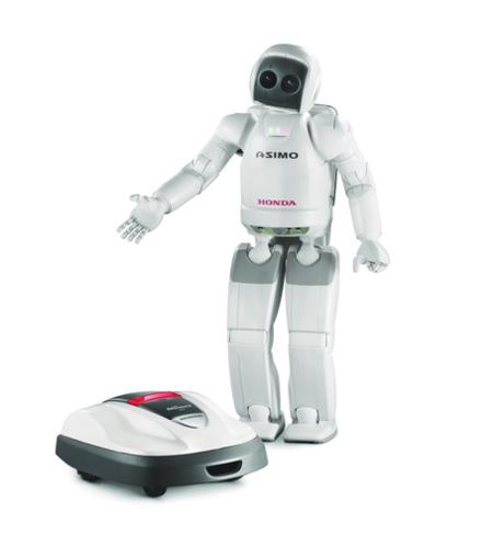 Miimo con robot ASIMO