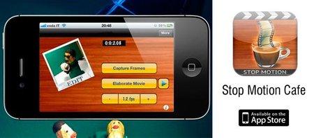 Stop Motion Cafe, una aplicación gratuita en iOS para hacer stop-motion y timelapses