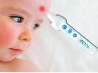 Tomar la temperatura sin necesidad de tocar al bebé