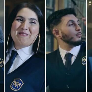¿Qué hacen Dakota, Saray, Omar Montes y el Pequeño Nicolás en 'El Internado: Las Cumbres'? La promo de los alumnos conflictivos