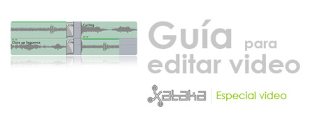 Guía para editar video: Equipo y programas de edición. Especial video (XI)