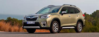 Probamos el Subaru Forester EcoHybrid, un SUV dinámico, cómodo y amplio... pero de consumo mejorable