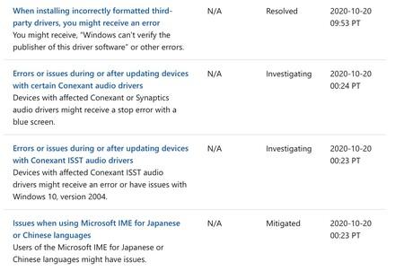 Problemas Microsoft