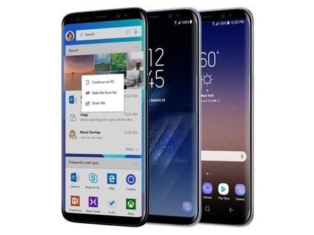 Microsoft Samsung Galaxy S8