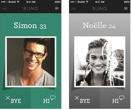 BLINQ es la nueva App de citas que califica tu belleza y te encuentra pareja según tus gustos automáticamente