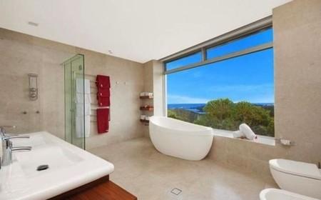 Mansión en Australia inspirada en Star Trek - Cuarto de baño