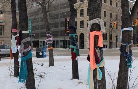 bufandas árboles