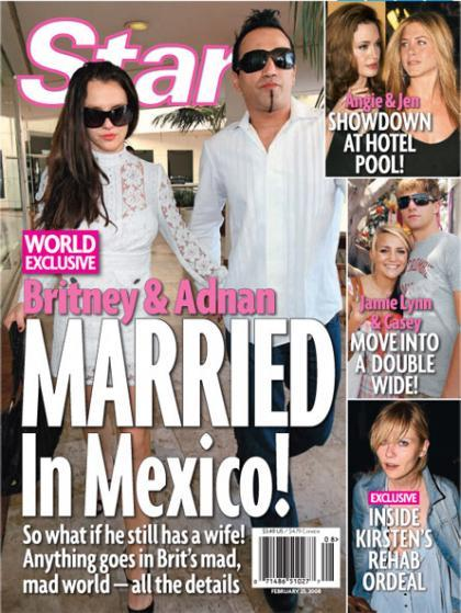 Britney Spears se casa en secreto