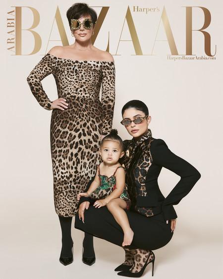Kris Jenner Kylie Jenner Harpers Bazaar Arabia July August 2019 02