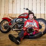 Guy Martin se enfrentará al mayor Wall of Death el 28 de marzo. Objetivo 160 km/h