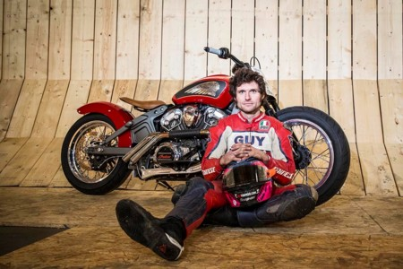 Guy Martin Wall Death