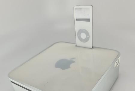 El Mac mini pudo servir también como dock para el iPod según este prototipo, pero Apple acabó desechando la idea
