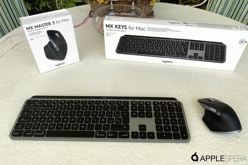 Logitech presenta su gama MX para Mac: teclado Mx Keys y ratón MX Master 3