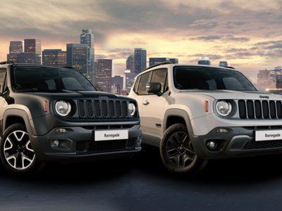 El Jeep Renegade estrena ediciones especiales Deserthawk y Night Eagle II