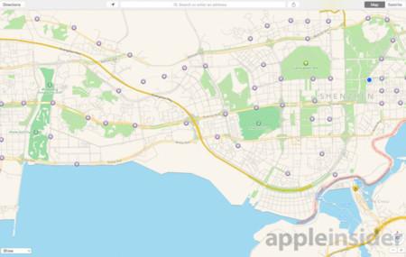 Apple Maps China