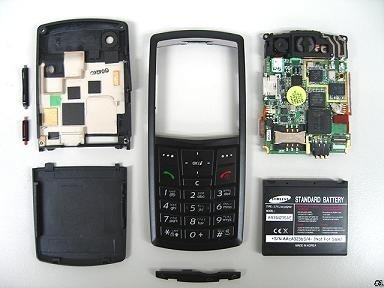 Destripando el Samsung X820