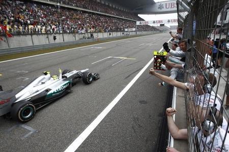 Mi Gran Premio de China 2012: Nico Rosberg y el espectáculo, vencedores en Shanghai