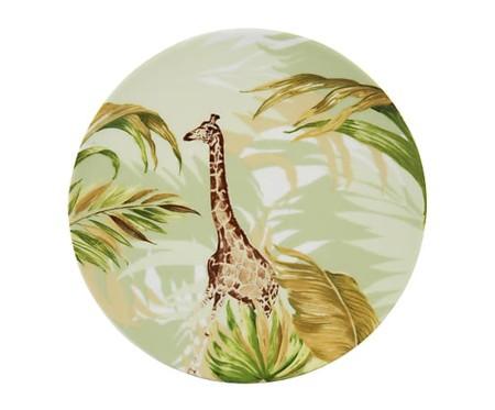 Plato con jirafa