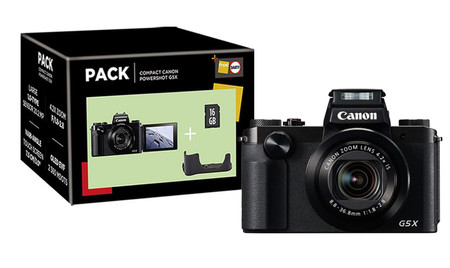 Canon Poweshot G5x Pack