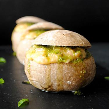 Panecillos rellenos de queso y huevo revuelto: receta fácil y rápida