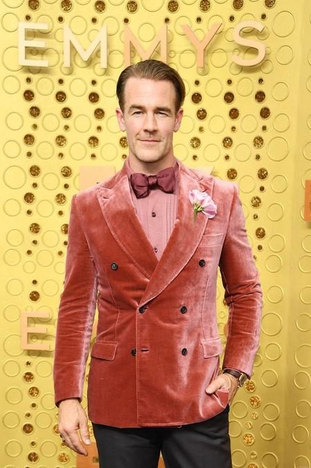 James Van Der Beek Emmy Wards Red Carpet Alfombra Roja Trendencias Hombre 2