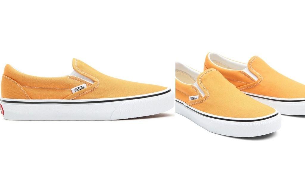 Zapatillas casual de mujer Classic Slip-On Golden Vans