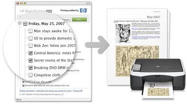 HP Blog Printing, imprime correctamente tu blog
