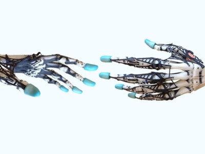 Lo más parecido a una mano humana es esta inquietante y compleja mano robótica impresa en 3D