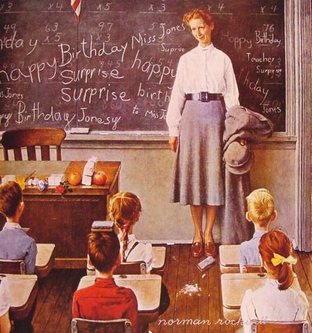 Teachers0 Birthday 1956