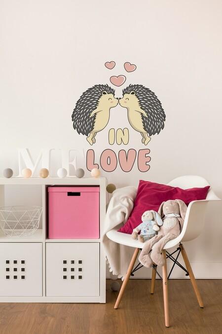 Tenvinilo Vinilo Decorativo Porcupine In Love Desde 8 75eur A20454