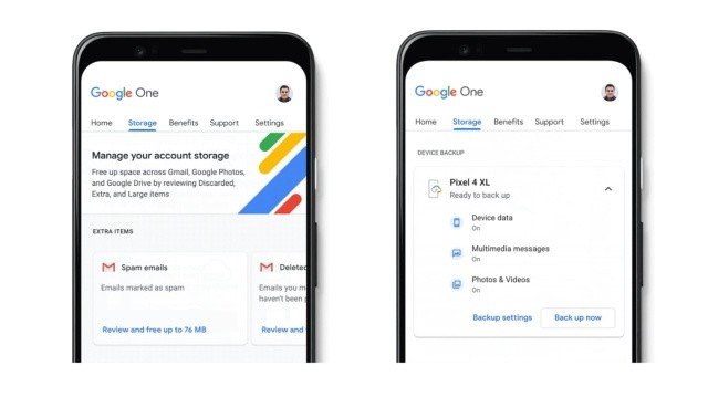 Google ahora hara copias de seguridad gratuitas para iPhone, iPad y Android por medio de su nueva app Google One
